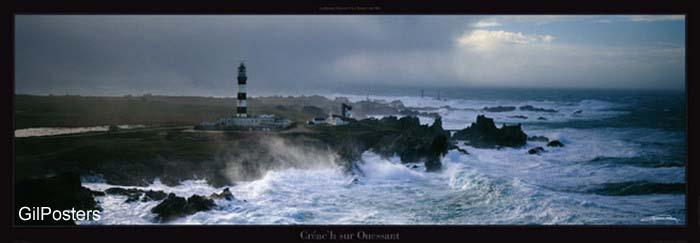 ים נוף גלים חוף שמים