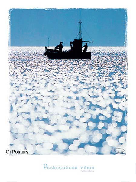 זוהר במיםאניה ספינה ים דייגיםשלווה יאכטה שיט שייט שמים אפורים גלים מהר ביחד גלים