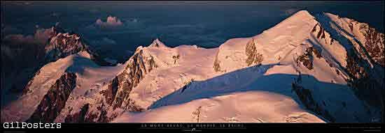 Le Mont Blanc, le Maudit, le Tacul