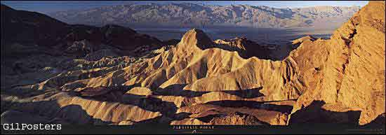 Zabriskie Point, Death Valley National Park - California