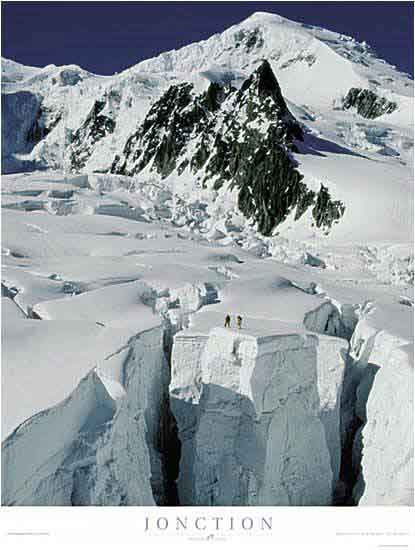 Jonction - Bossons glacier