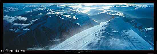 Sommet du Mont-Blanc 4810 m