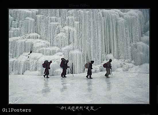 הליכה בקרח - זנקאר