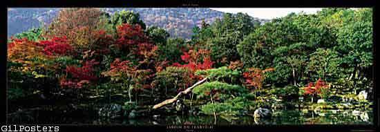 Jardin du Tenry?-ji  - Kyoto - Japan