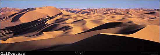 סהרה  - המדבר הלובי