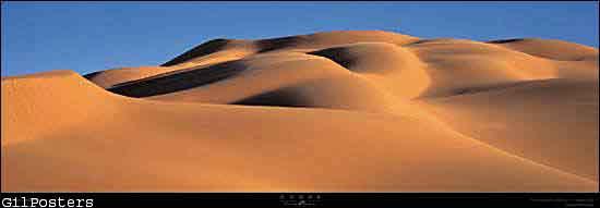 דיונות  -  המדבר הלובי