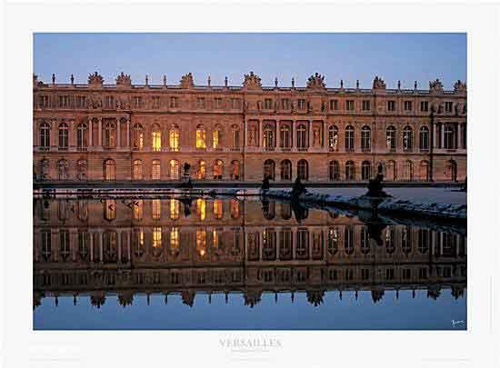 Fa?ade au soleil couchant - Versailles