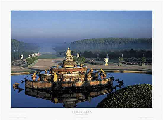 La grande perspective - Versailles