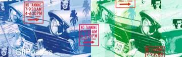 גיימס דין - מרלין מונרוסרטים ישנים  מכונית ג'יימס דין כרזה עתיק ענתיקה