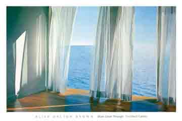 הכחול חודר פנימהים מול החלון נוף פסטורלי רגוע רגיעה כיף טבע כחול שמים