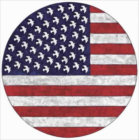 דגל עגול