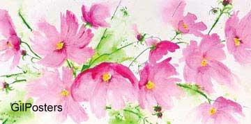 פרח פרחים רכות עדינות נוף פסטורלי טבע