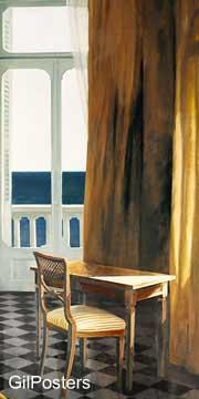 שמש בפני הבית 2רומנטי חלון נוף ים יופי כחול עיצוב
