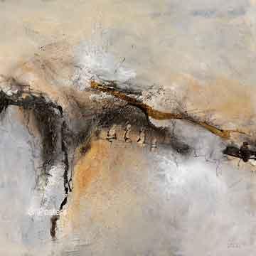 אדמהמופשט  לבן אפור אבסטרקטי מודרני עדין דקורטיבי כתמים