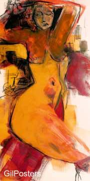 עירום נשי אישה גוף רגליים סקסי  ציורים_עירום