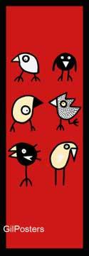 שמחים ביחדציפורים מקור נאיבי הומור נשיקה