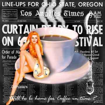קפה בביתבחורה אישה כוס מטבח דקורטיבי