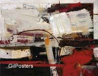 סצינההתרחשות עוצמה אדום לבן קווים קו צבע מופשט