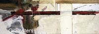 התרחשות 4התרחשות עוצמה אדום לבן קווים קו צבע מופשט