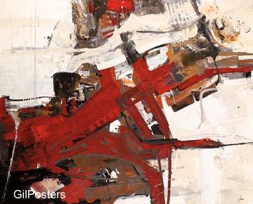 מציאותאדום צבע  מודרני שחור לבן גרפיקה קווים
