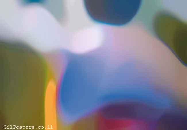 התפתחות 3ורוד אדום אווירה פסיכודלי צבעים סגול כחול