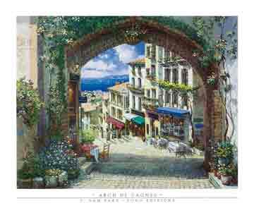 שער רומנטיבתים יוון יון ים תיכוני פסטורלי סימטאות ים מזרחי פרחוני