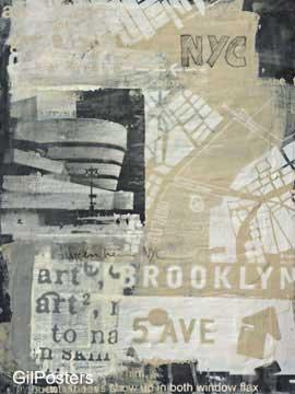 מוזיאון גוגנהיים 1עיצוב דקורציה נוף פנים שחור לבן ניו יורק ארצות הברית