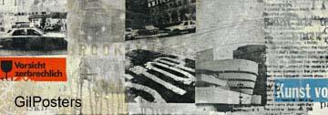 ניו יורק - מוזיאון גוגנהיים 2עיצוב דקורציה נוף פנים שחור לבן ניו יורק ארצות הברית