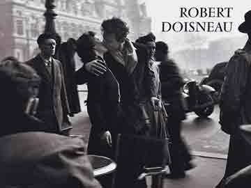 הנשיקה דמויות רומנטיקה זוגיות אהבה Doisneau Robert