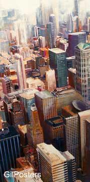 שיקאגועיצוב דקורציה נוף פנים אדריכלות ערים עיר אבסטרקט מודרני ארצות הברית