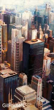 שיקאגו 2עיצוב דקורציה נוף פנים אדריכלות ערים עיר אבסטרקט מודרני ארצות הברית