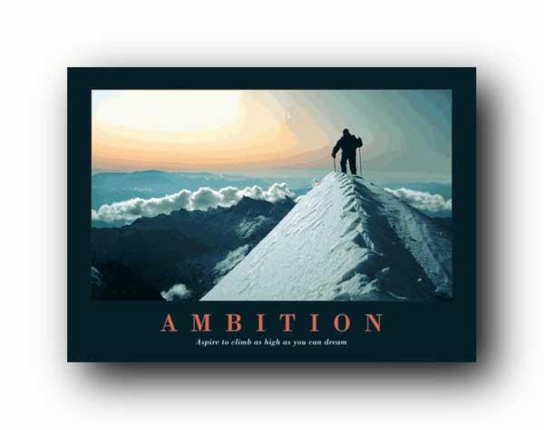 שאיפהשאיפות ספורט טיפוס הרים
