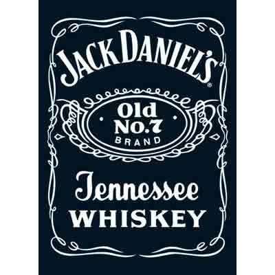 ג'ק דניאלסוויסקי ויסקי שחור לבן בירה משקה חריף פחית בקבוק שתיה בירות Jack Daniel's