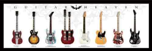 גיטרות 2רוק כבד הופעה במה מוסיקה נגן מנגן גיטרה קלסיקה קלאסי