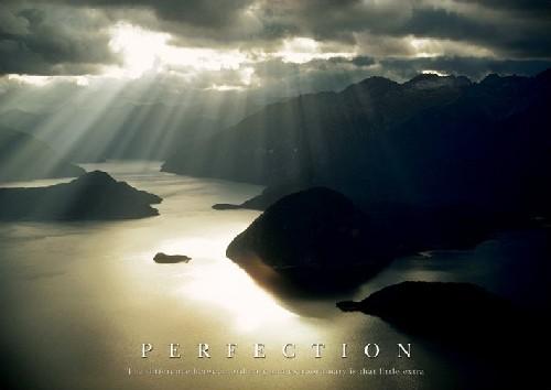 Perfection שלמות   מטרה יעד כיוון נוף מושלם הישג רגוע