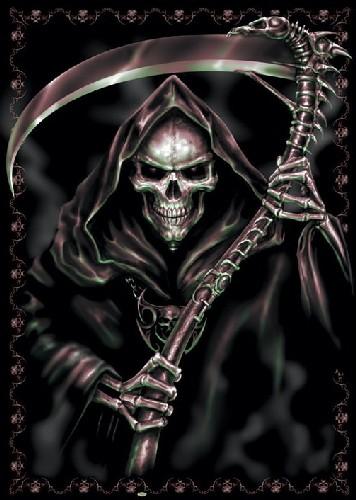 קללת המלאך Spiral - Reaper Spiral Reaper  שטן שחור פחד דמיון אימה