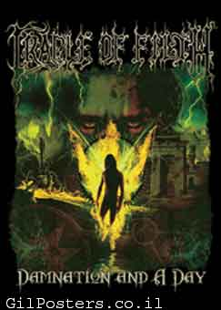 Cradle Of Filthרוק כבד הופעה דיסק במה פופ להקה