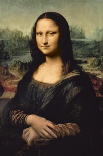 מונה ליזהמונה ליזה, לאונרדו דה וינצ'י, לאונרדו, לה ג'וקונדה , לובר , אמנות