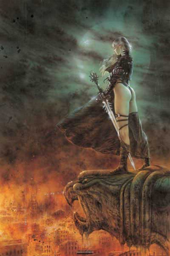 Luis Royo  - The Hour Has Arrived  האימה הגיעה האימה הגיעה  PY-PP30563 Luis Royo  - The Hour Has Arrived