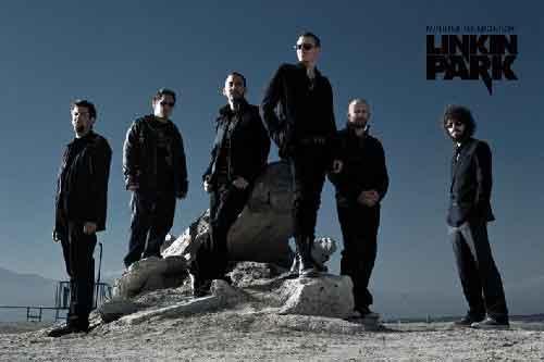 Linkin Parkמוסיקה רוק פופ להקה הופעה חיה גיטרה Rocks