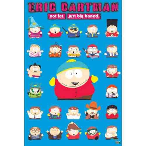 סאות פארקאנימציה סרטים מצוירים ילדים פוסטר South Park