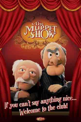 החבובותילדים אנימציה הומור בידור כייף The Muppets Statler & Waldorf