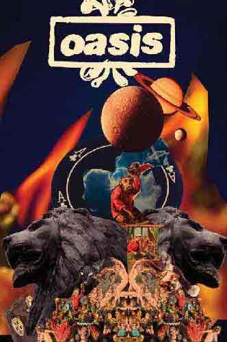 Oasisמוסיקה להקה קצב רוק פופ זמרת הופעה חיה Planets