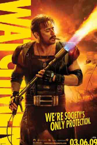 Watchmen מתח אלימות הרפתקאות סרט בנים הקומדיין המצחיקן