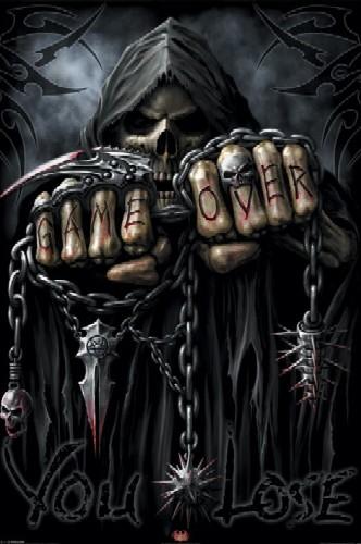 המשחק נגמר Spiral - Game Over Reaper Spiral Game Over Reaper