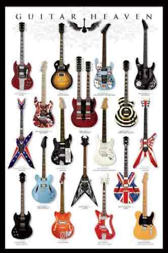 רוק כבד הופעה במה מוסיקה נגן מנגן גיטרה