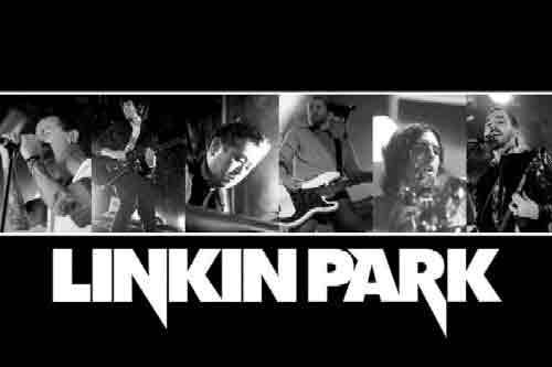 רוק פופ הופעה במה מוסיקה נגן מנגן גיטרה קלסיקה קלאסי LINKIN PARK