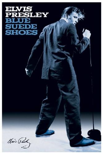אלביס פרסליelvis  אולדיז רוקנרול blue suede shoes