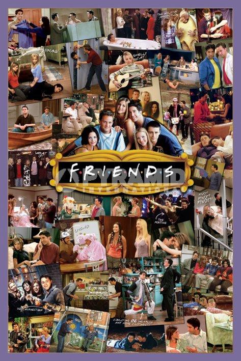 חבריםטלוויזיה, חברים, פיבי, ריצ'ל, רוס, מוניקה, צ'נדלר, ג'ואי,