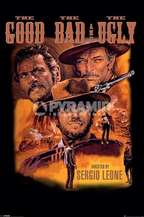 הטוב הרע והמכוערסרט, קלאסיקה, הטוב הרע והמכוער, מערבון, כרזה